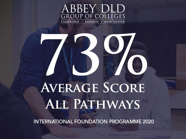 Abbey DLD International Foundation Programme results 2020