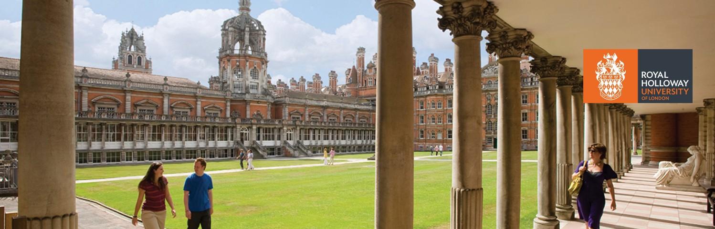 Founders Builiding at Royal Holloway, University of London