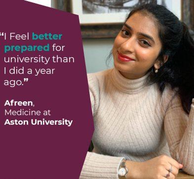 International Foundation Programme Student Success - Afreen