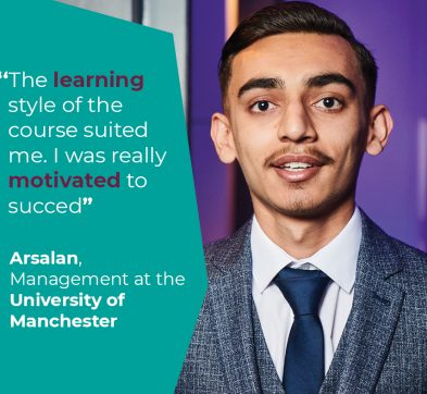 International Foundation Programme Student Success - Arsalan