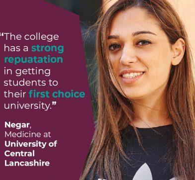 International Foundation Programme Student Success - Negar