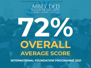 Abbey DLD Group of Colleges International Foundation Programme Results 2021